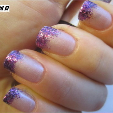 06 VIOLET nails nail art by NailsandEl