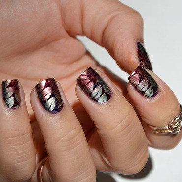 Autumn leafs  nail art by Sweapee