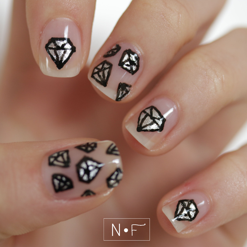 A girls best friend nail art by nerdyfleurty nailpolis museum a girls best friend nail art by nerdyfleurty prinsesfo Image collections