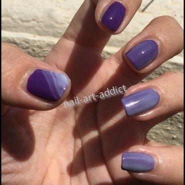 Pastel Ombré nail art by SowNails