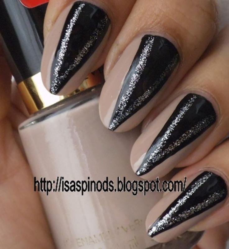 Evanora's Nails - Inspiración Mago de Oz nail art by Isabel