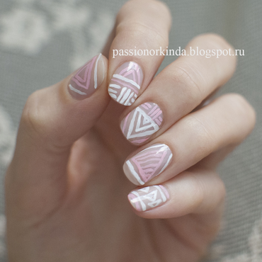 Quick and easy nail art by Passionorkinda