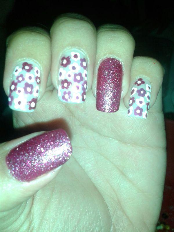 full brillo nail art by Andreea