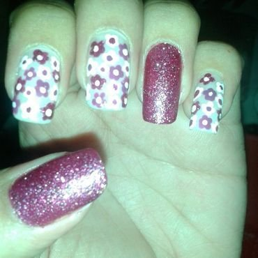 full brillo nail art by Andreea