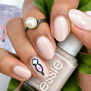 Essie Topless & Barefoot Swatch by Fatimah