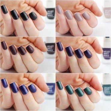 IsaDora Velvet Matt Autumn/Winter '15 nail art by Ann-Kristin