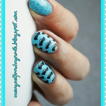 For my little boy nail art by ELIZA OK-W
