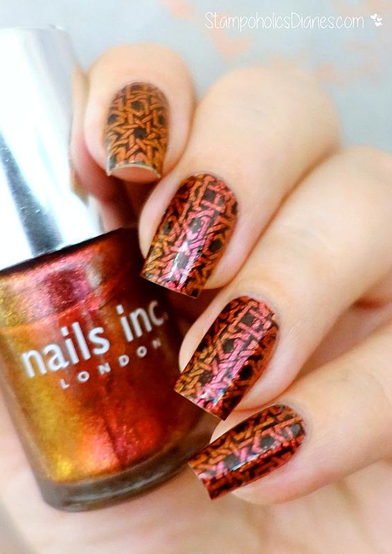 Oriental Nails nail art by Natasha