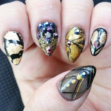 Classy claws nail art by Kristen Lovett