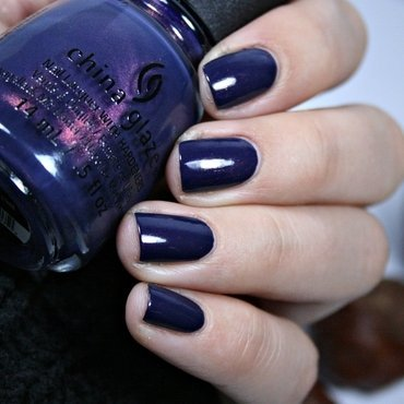 China Glaze Sleeping Under The Stars Swatch by Romana