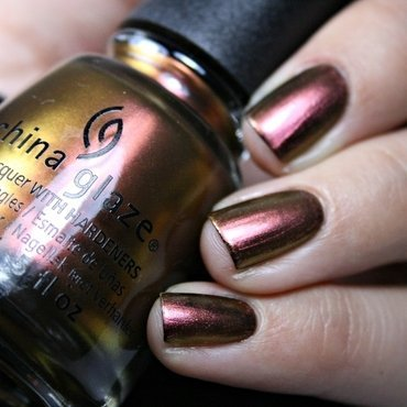 China Glaze Cabin Fever Swatch by Romana