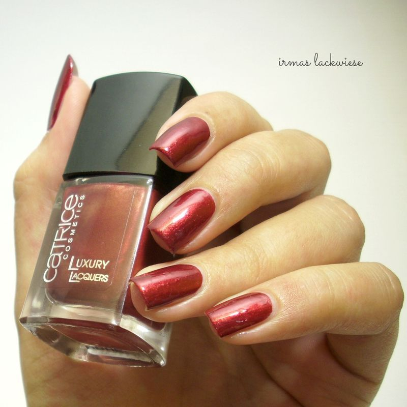 Catrice red notting hill thrill Swatch by irma