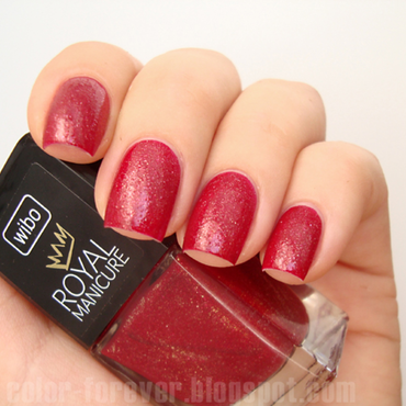 Wibo Royal Manicure 1 Swatch by ania