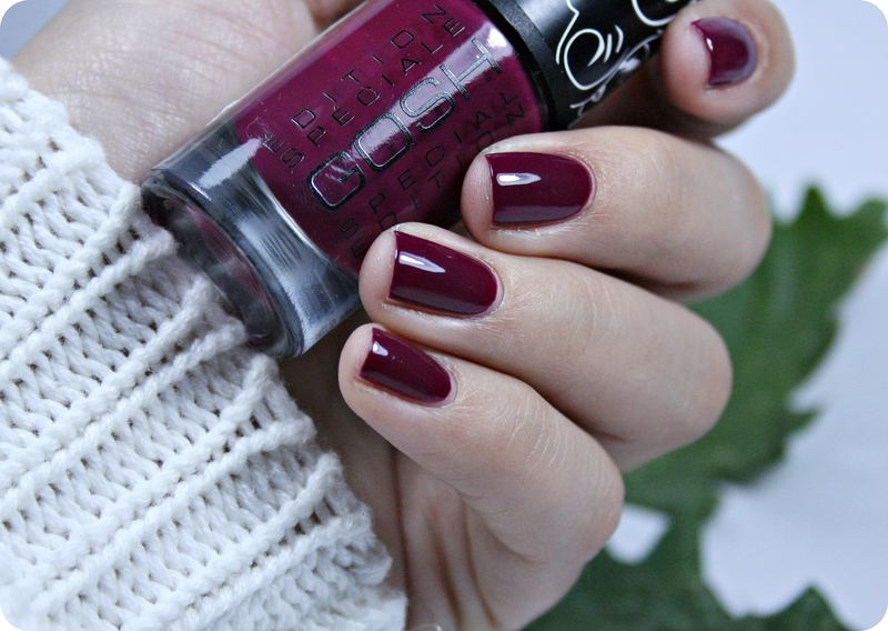 GOSH 008 Berry Me Swatch by Romana