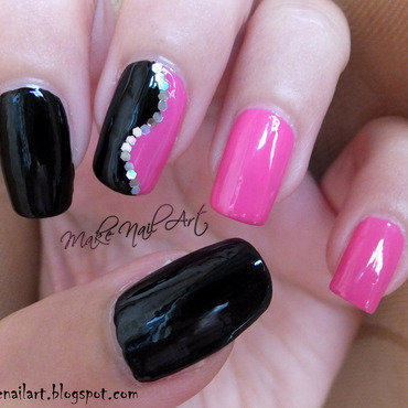 Black 20and 20pink 20nail 20art 20design thumb370f