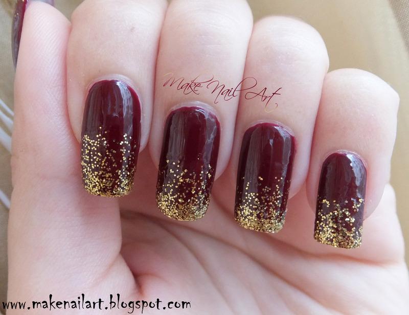 Autumn Inspired Nail Art Design nail art by Make Nail Art