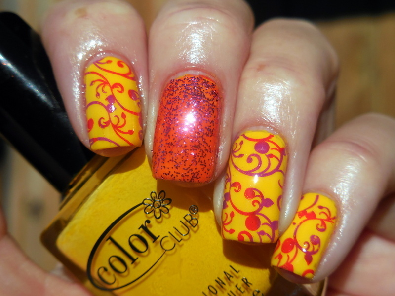 Bright Fun nail art by Donner