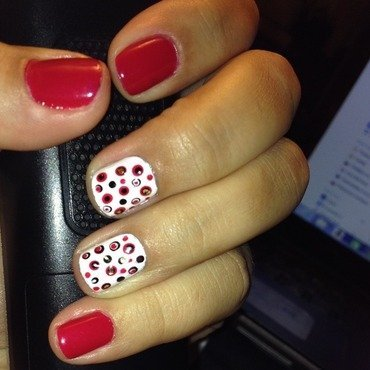 In the fall nail art by Elyana