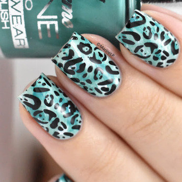 Leopard print nails 20 6  thumb370f