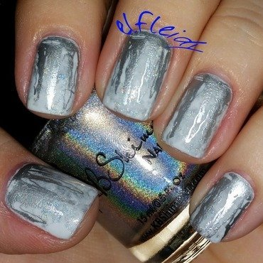 Stamping Sunday 10-04-2015 nail art by Jenette Maitland-Tomblin