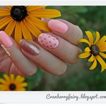 Summer with Semilac nail art by Cranberry Fairy