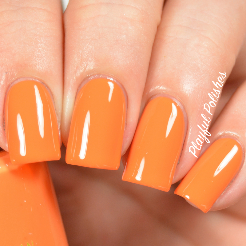 Emma Jean Cosmetics Beach Party Swatch by Playful Polishes
