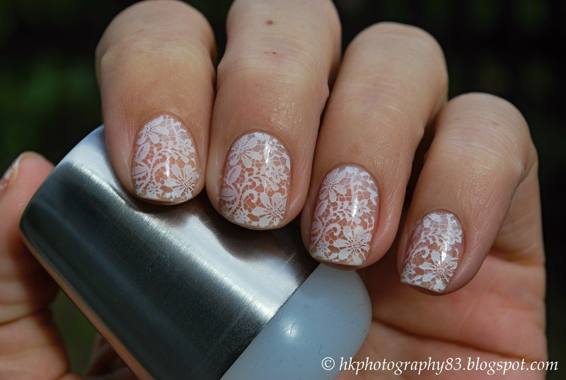 Wedding Lace Nails Nail Art By Hana K