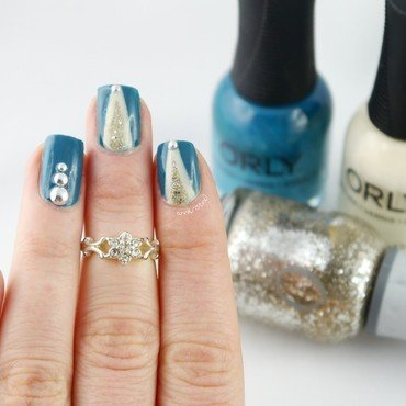 Orly Tape Mani nail art by Ann-Kristin
