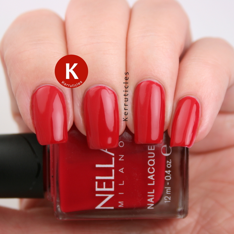 Nella Milano Cabaret Charm Swatch by Claire Kerr