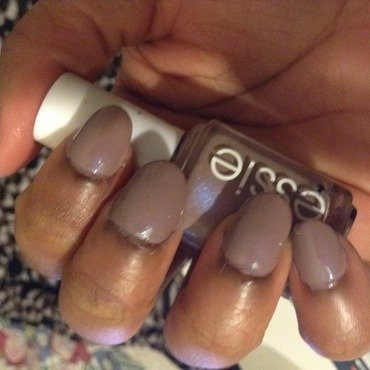 Essie Comfy in cashmere Swatch by Asiah