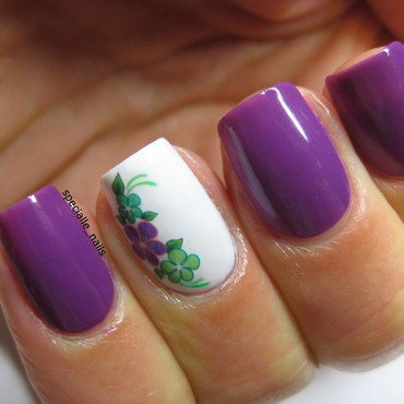 Flowers 5 nail art by specialle