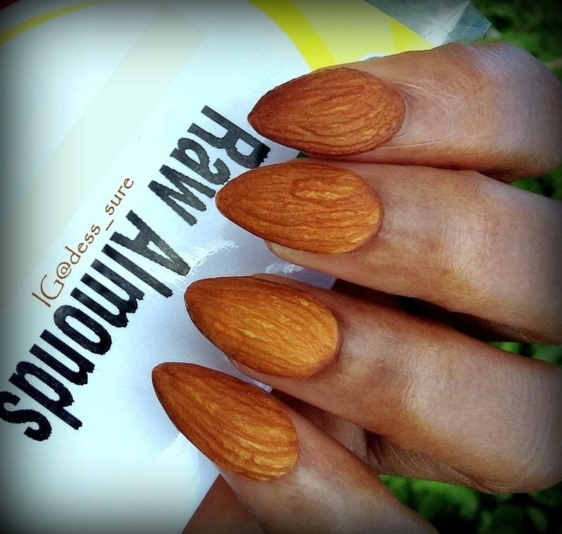 Nuts  nail art by Dess_sure