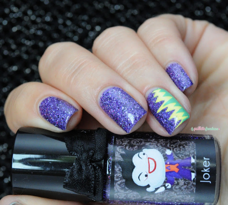 Joker ! nail art by nathalie lapaillettefrondeuse - Nailpolis ...