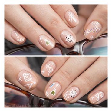 40 GNAI - Week 3: Geeks nail art by Magdalena