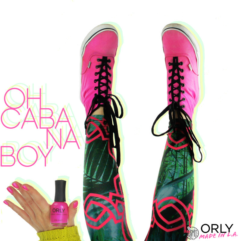 Orly Oh Cabana Boy Swatch by Paulina