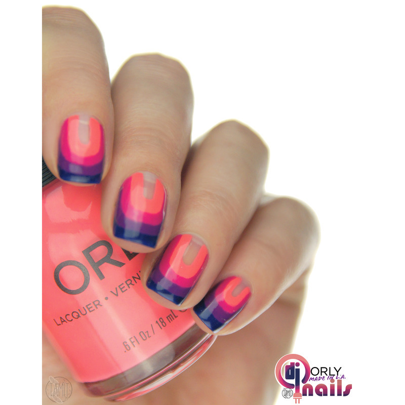 Orly In The Mix nails. nail art by Paulina