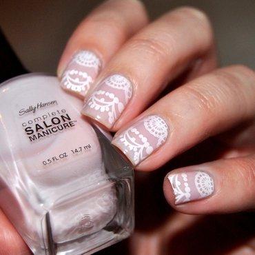 Shell We Dance nail art by Lackopfer