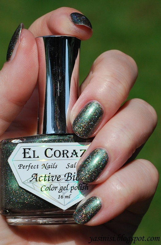 El Corazón Cat's Eye Swatch by Yasinisi