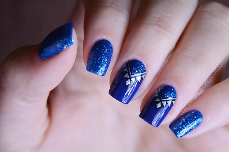 Angel eyes nail art by bopp