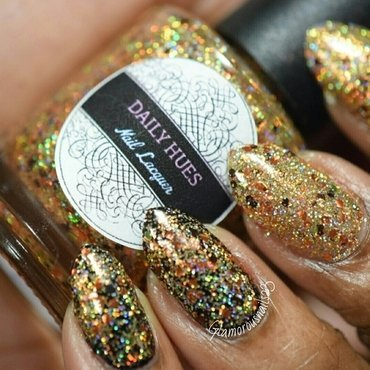 Daily Hues Nail Lacquer Limited Edition #16 Swatch by glamorousnails23