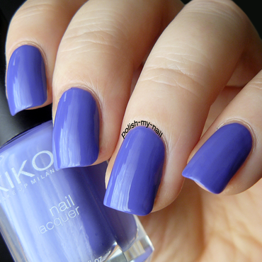 Kiko 337 Periwinkle Violet Swatch by Ewlyn