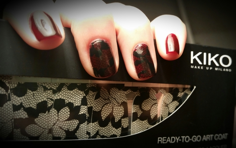 red touch of lace nail art by redteufelchen86