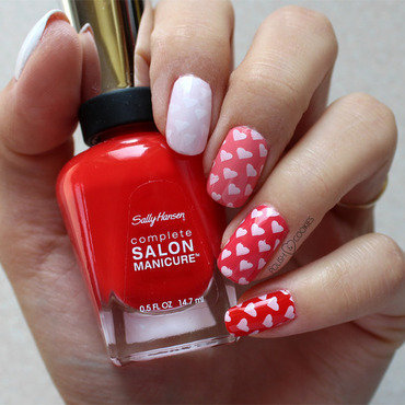 I Love Ombre nail art by PolishCookie