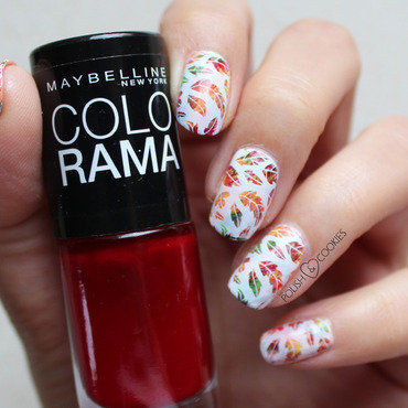 Shades of Autumn nail art by PolishCookie