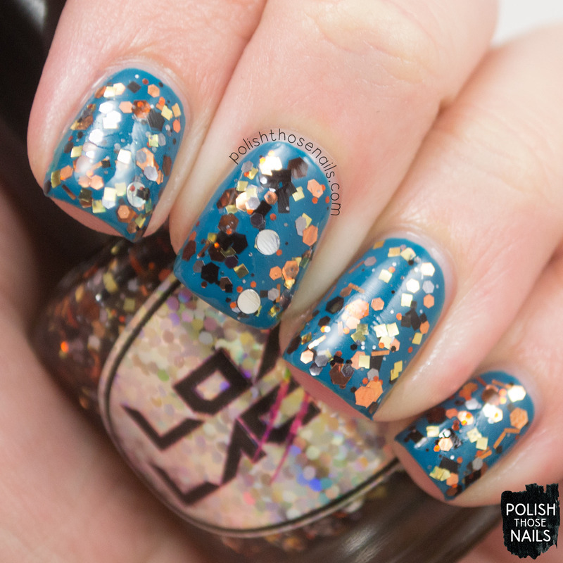 Loaded Lacquer Steampunked Swatch by Marisa  Cavanaugh