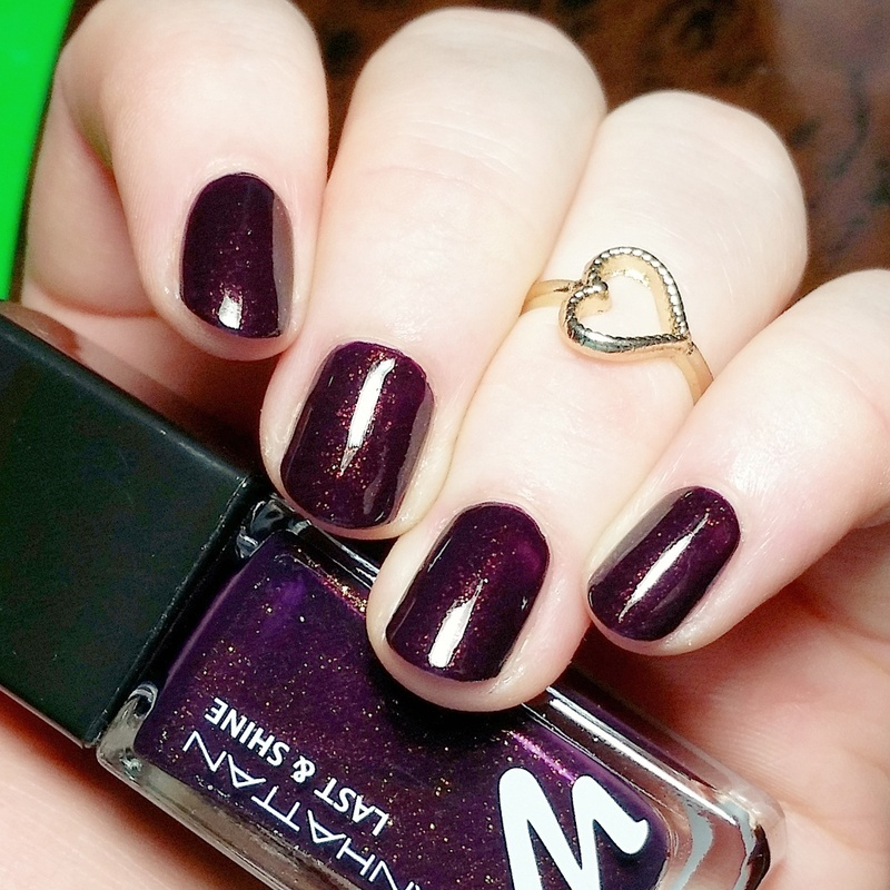 Manhattan 760 Moscow night Swatch by nailicious_1