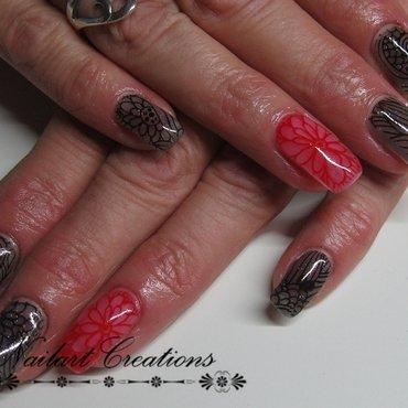 Stamping Shades nail art by Nailart Creations