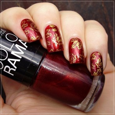 Matchingmanicures fall leaves 2 thumb370f