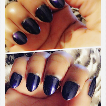 OPI Russian Navy Swatch by Asiah