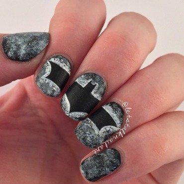 NA NA NA NA BATMAN! nail art by Lottie